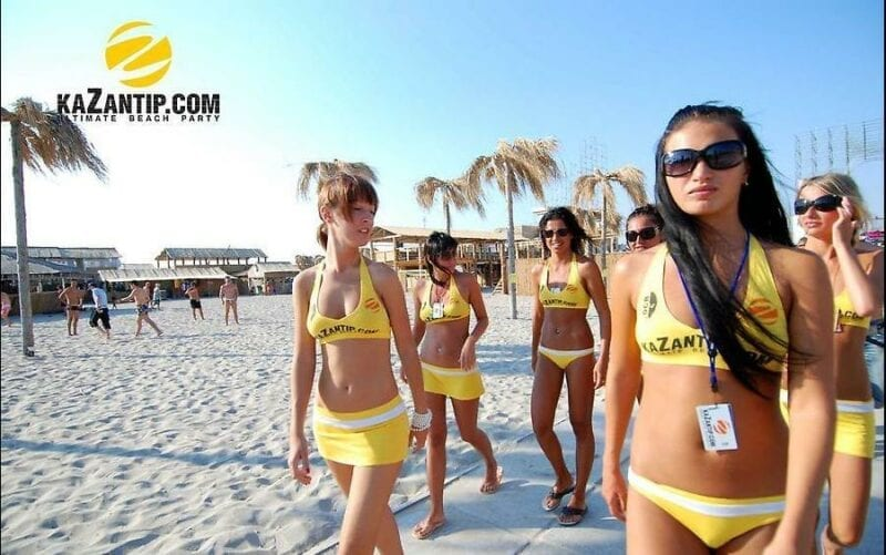 Kazantip girls