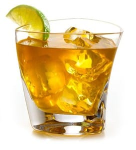 Ice tea whisky