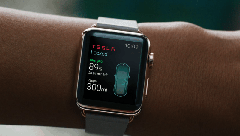 Tesla Apple watch app - blessthisstuff.com