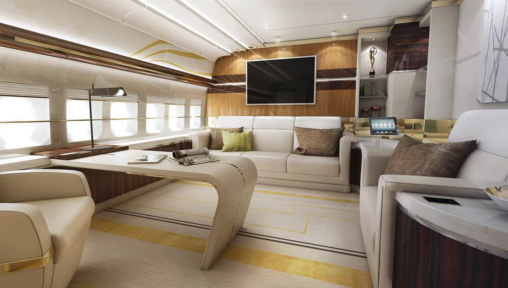 Luxe prive Boeing 1