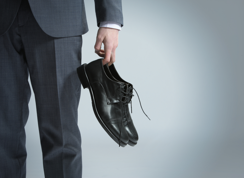 Dress shoes - shutterstock - stokkete