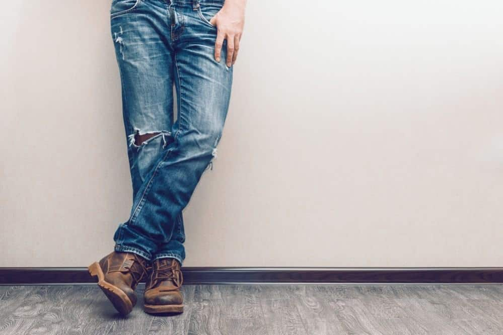 Ripped jeans 4 - shutterstock
