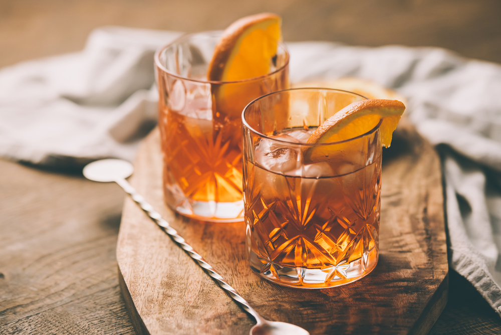 Old Fashioned Cocktial - Shutterstock