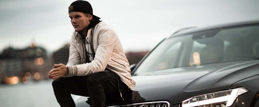 Volvo, avicii, feeling good