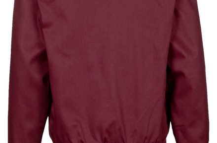 Harrington jacket bordeaux rood 2