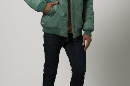 Makia FLIGHT jacket 1