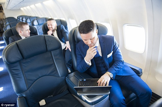 private jet ryan air business
