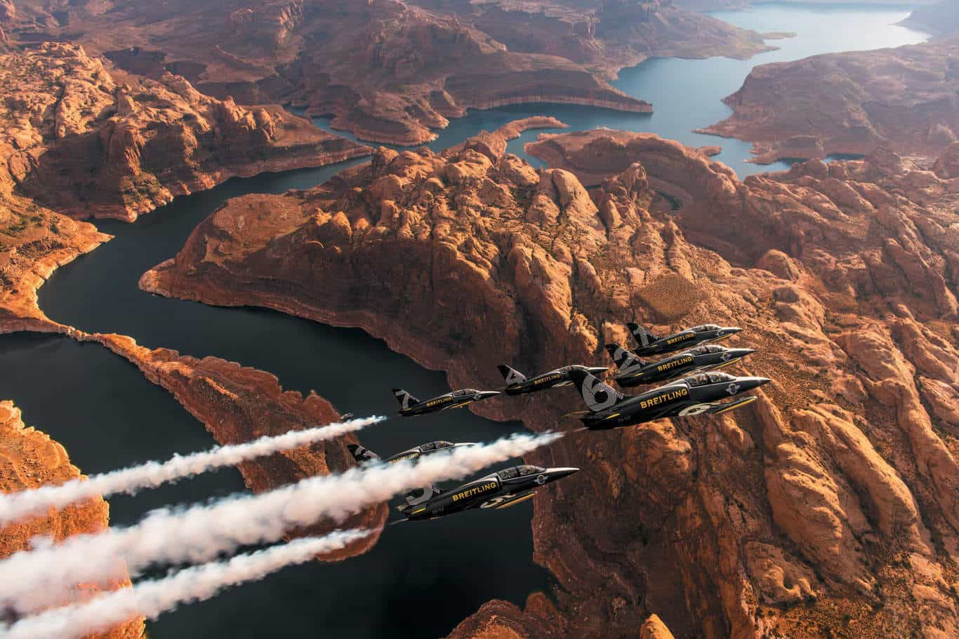 Breitling Jet Team Grand canyon