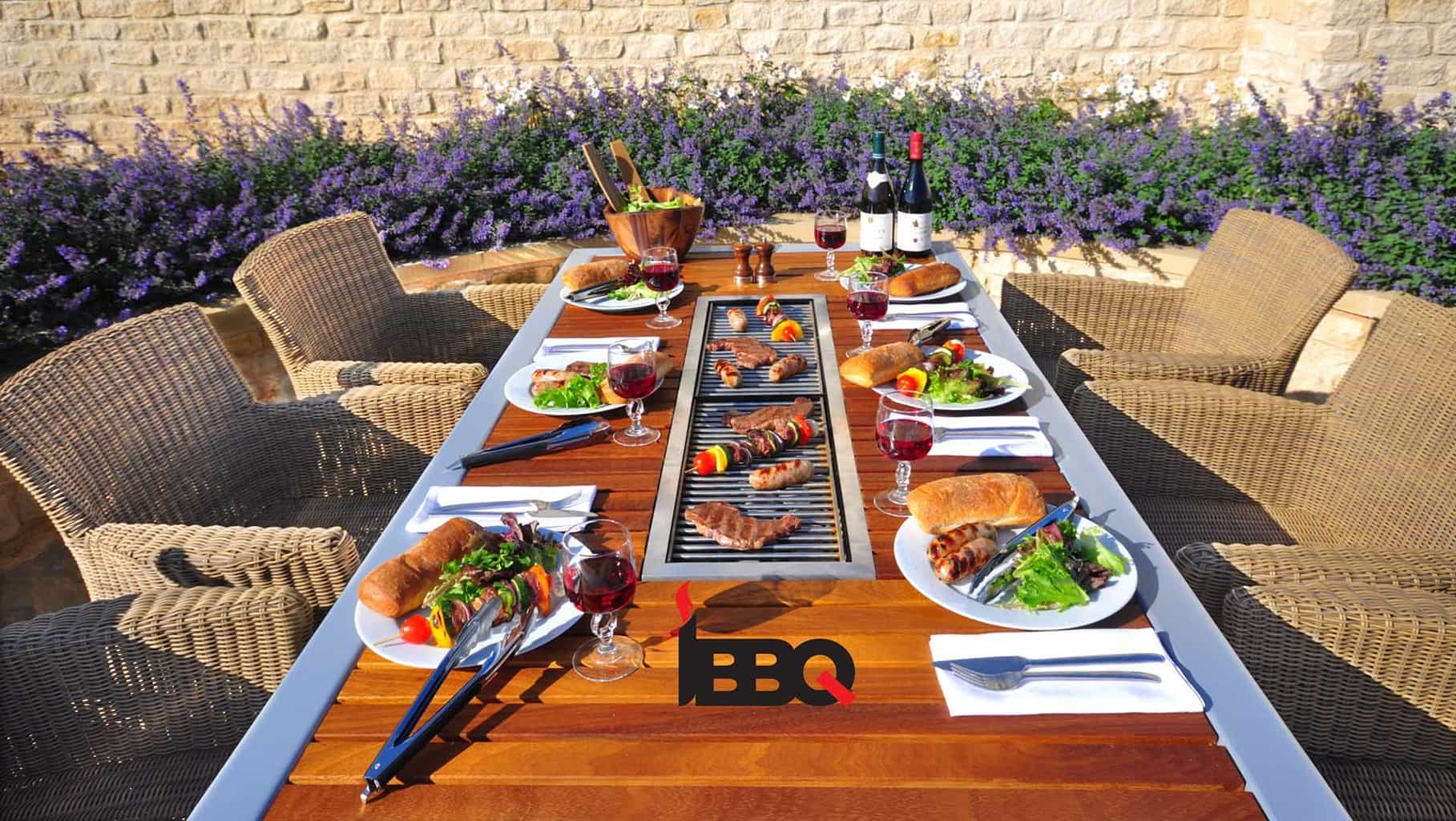 Barbecue tafel 2