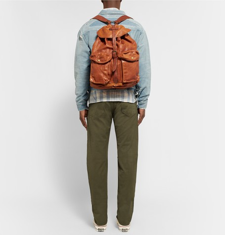 RRL Leather Backpack 3