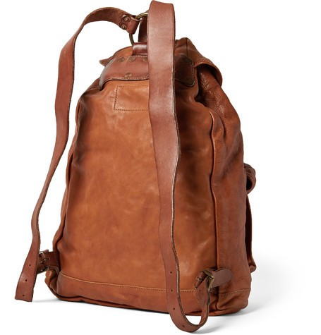 RRL Leather Backpack 4