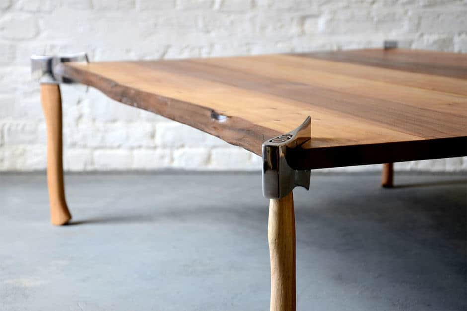 Woodsman Axe Table4