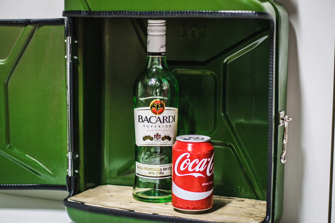 Jerrycan Bar - Designed By Man