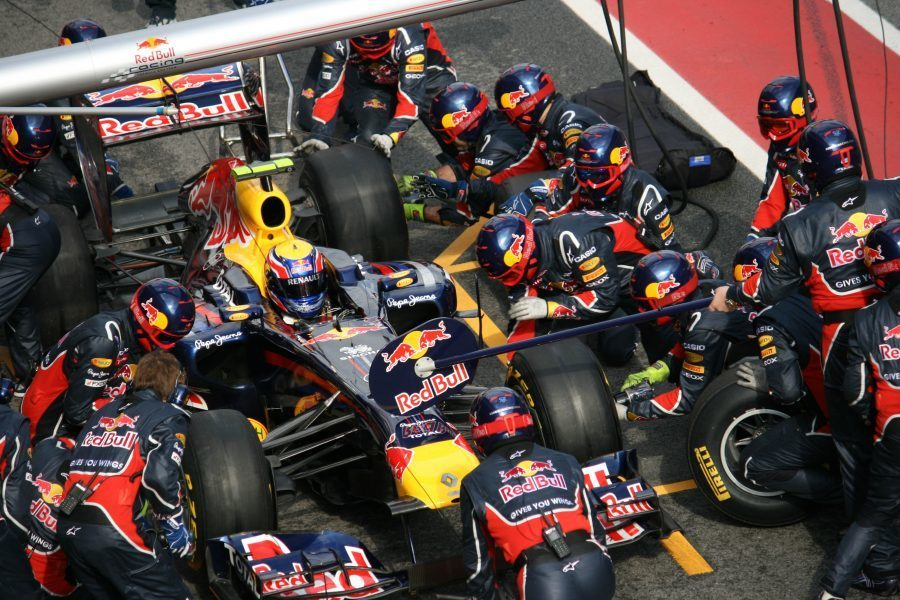 Red Bull pitstop 1