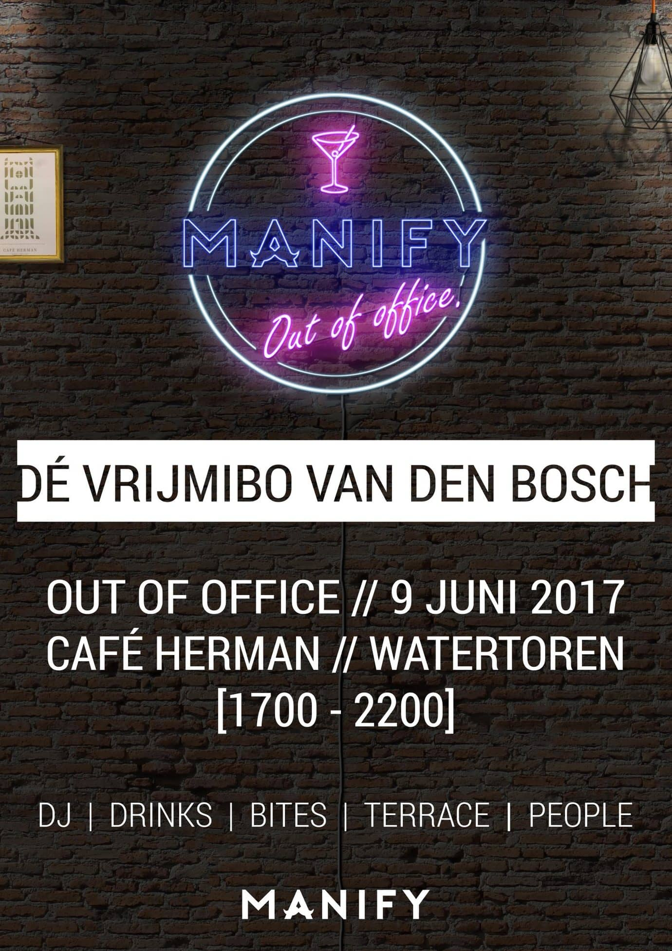 MANIFY: Out of office E1