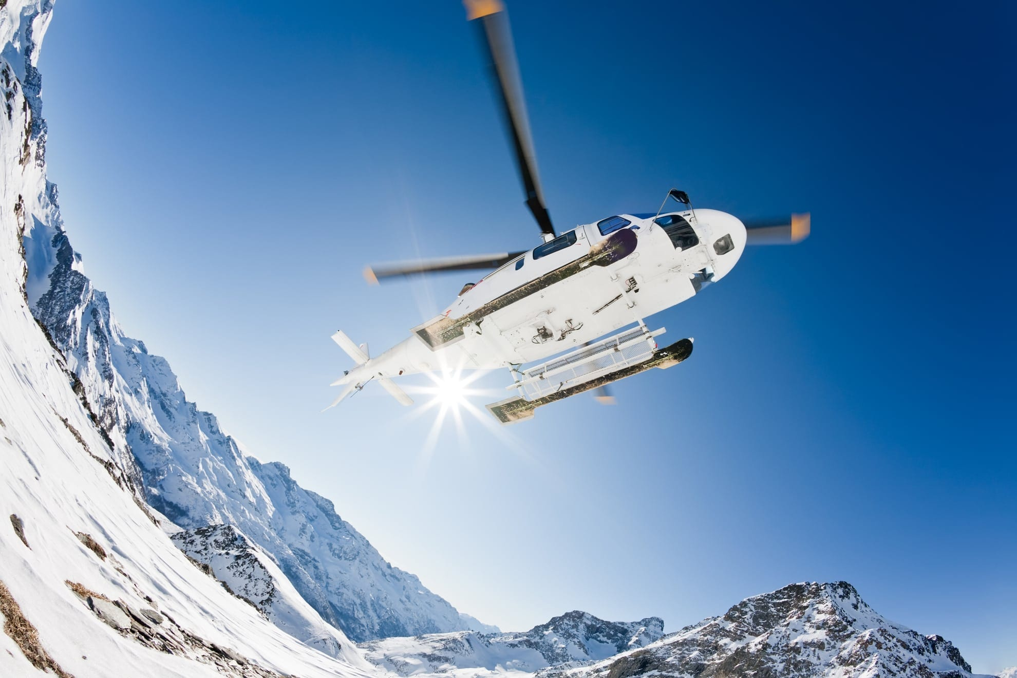 Helicopter-skien