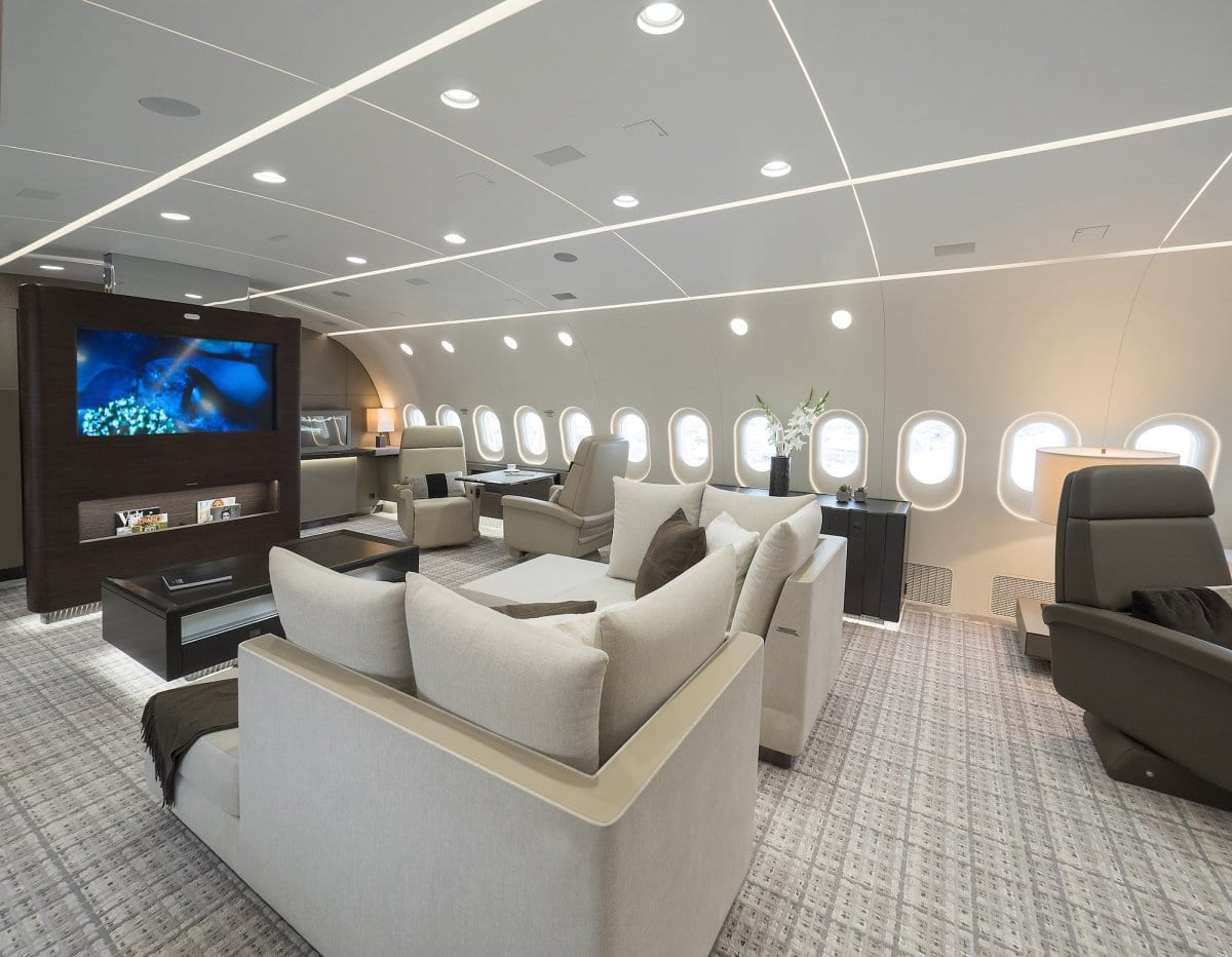 private Boeing 787