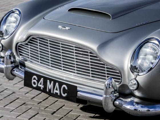 Paul McCartney's Aston Martin 1964 DB5
