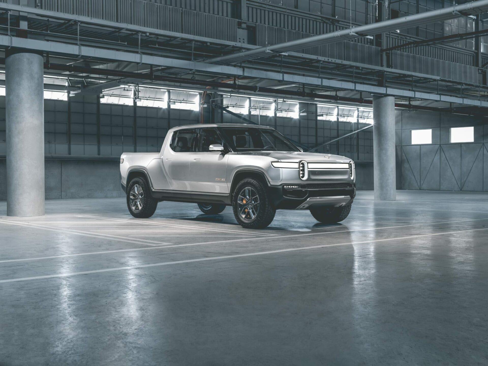 Rivian pick-up SUV