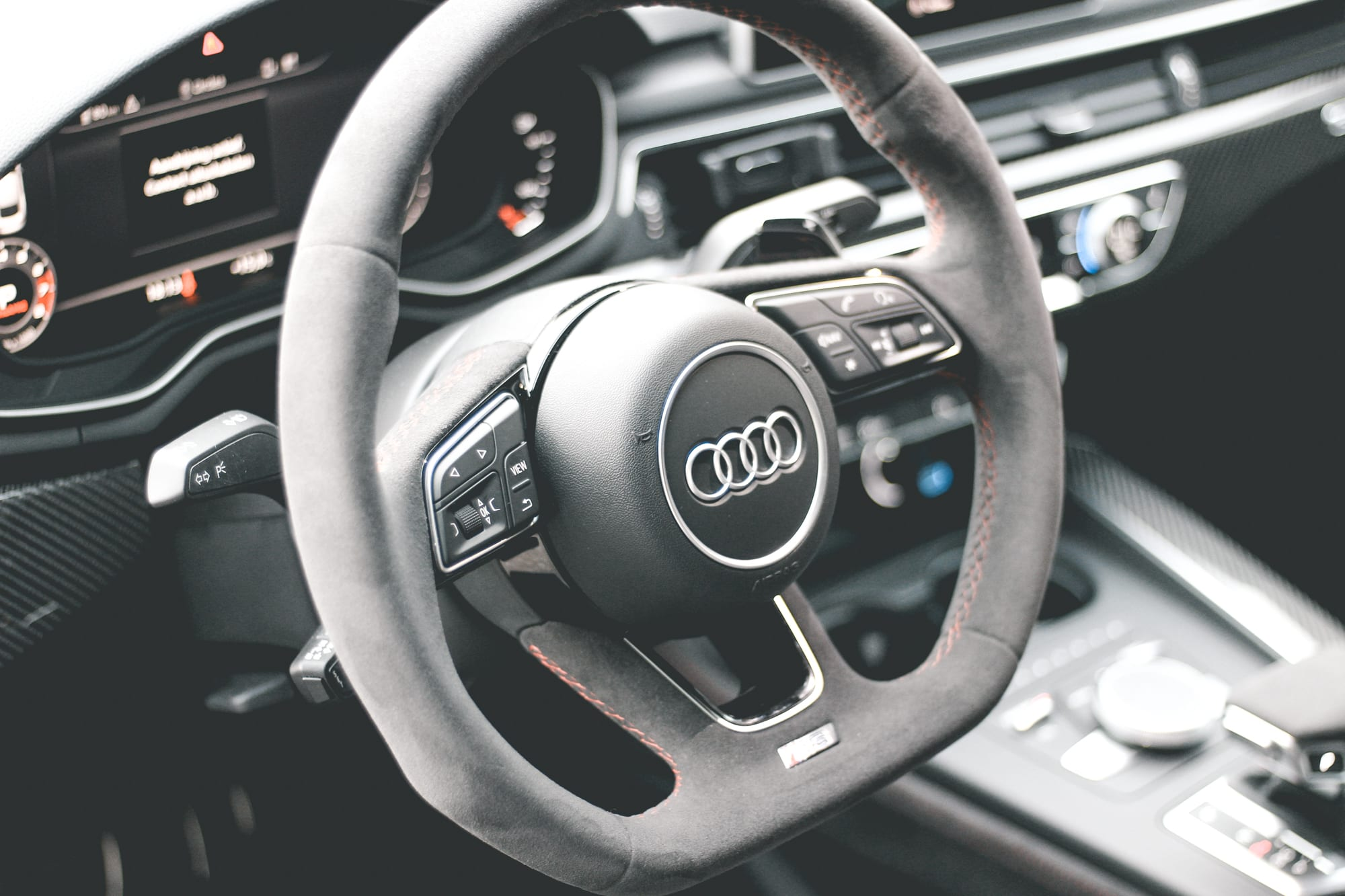 RS5 Sportback interieur