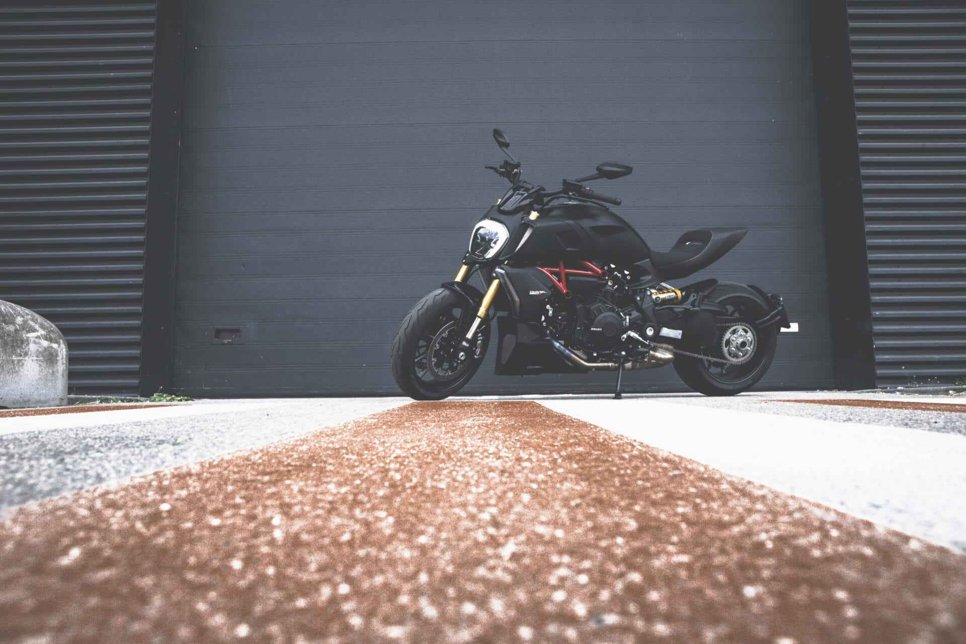 Ducati Diavel 1260 S header