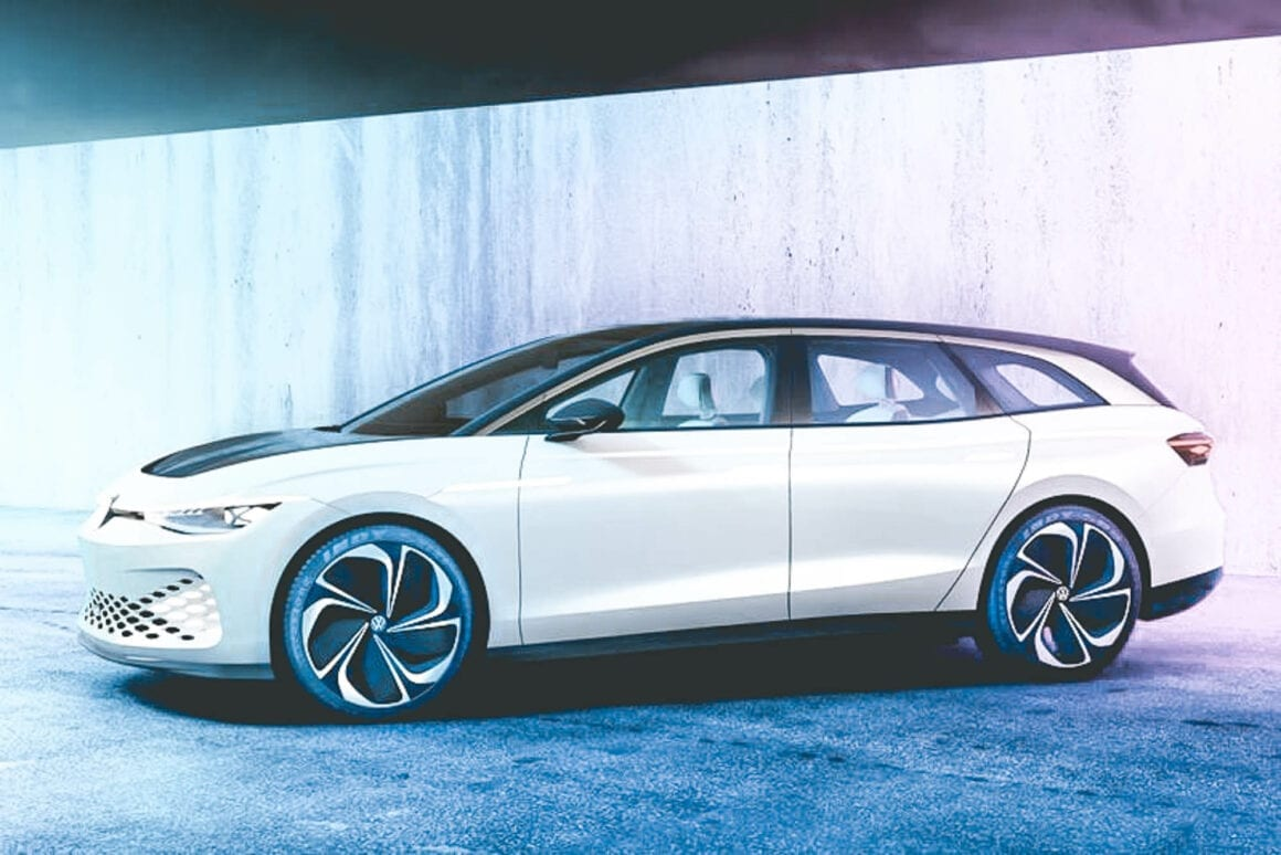 Volkswagen ID Space vizzion - Concepts cars 2019