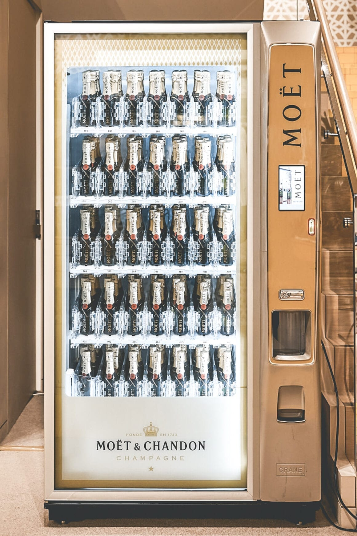 Moët Chandon Automaat - 2