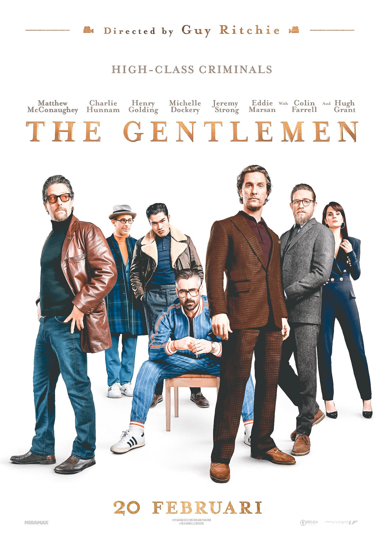 The Gentlemen trailer cast